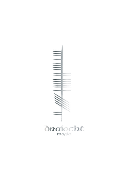 Ogham Foil Print - Single - Oregano Designs