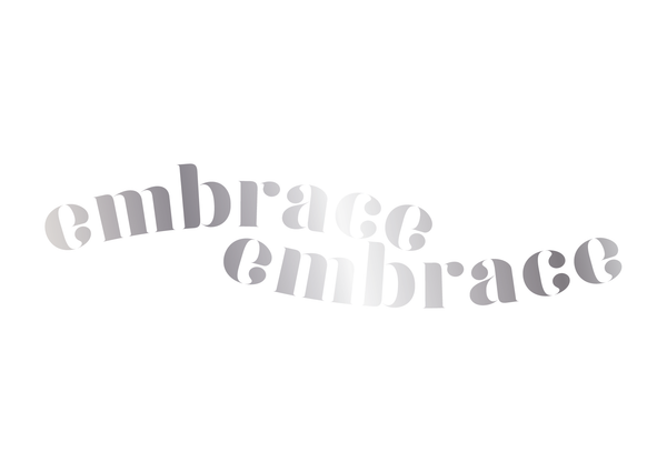 'Embrace' Reflection Foil Print - Oregano Designs