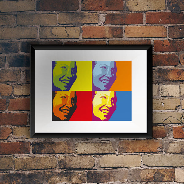 Personalised Pop Art Inspired Print - One Image