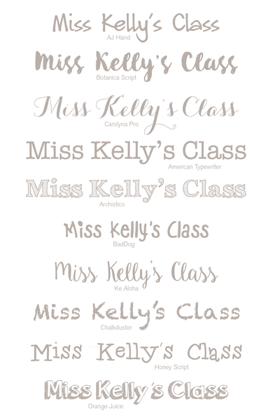 Personalised Print - Teacher Fingerprint Gift
