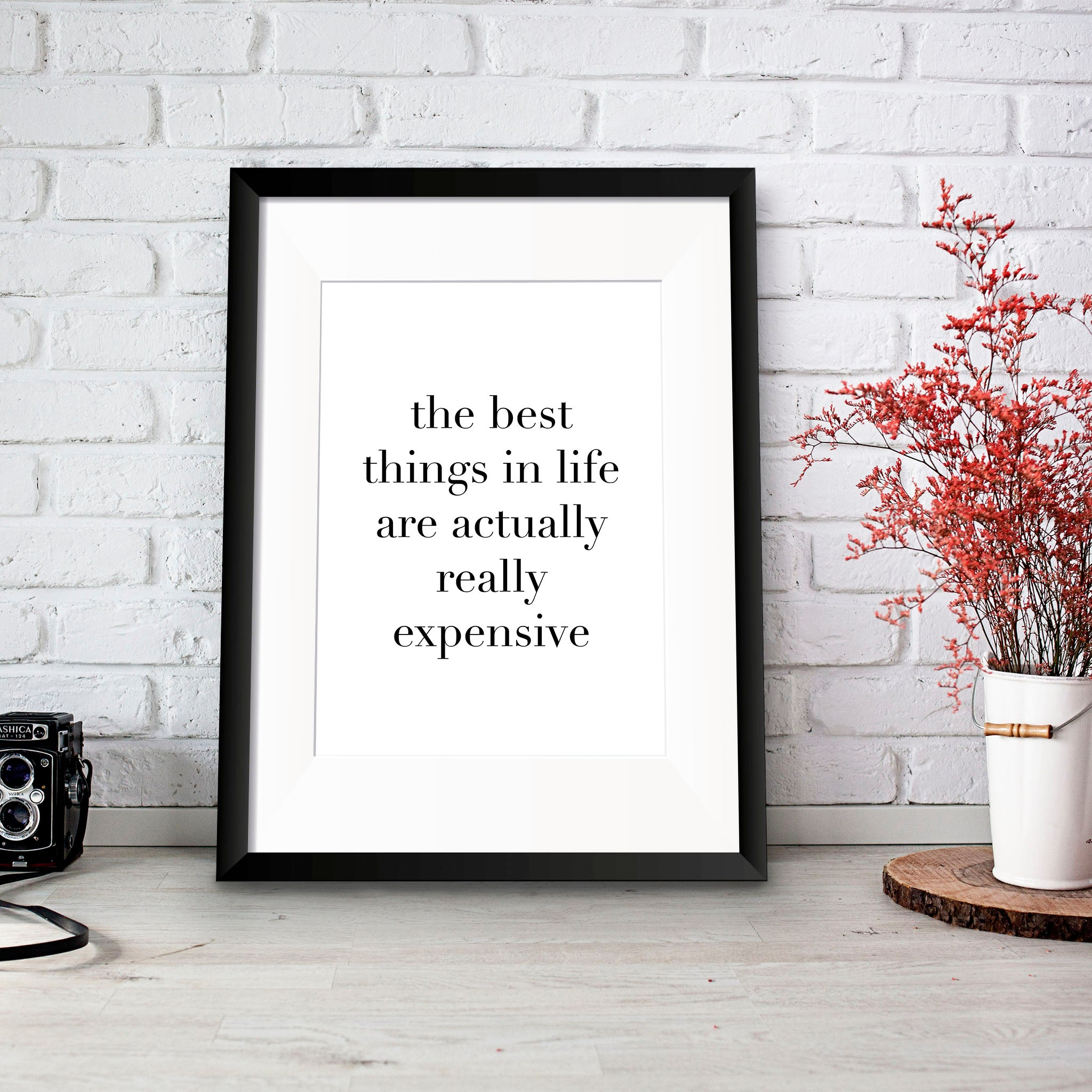 Best Things in Life Print - Oregano Designs