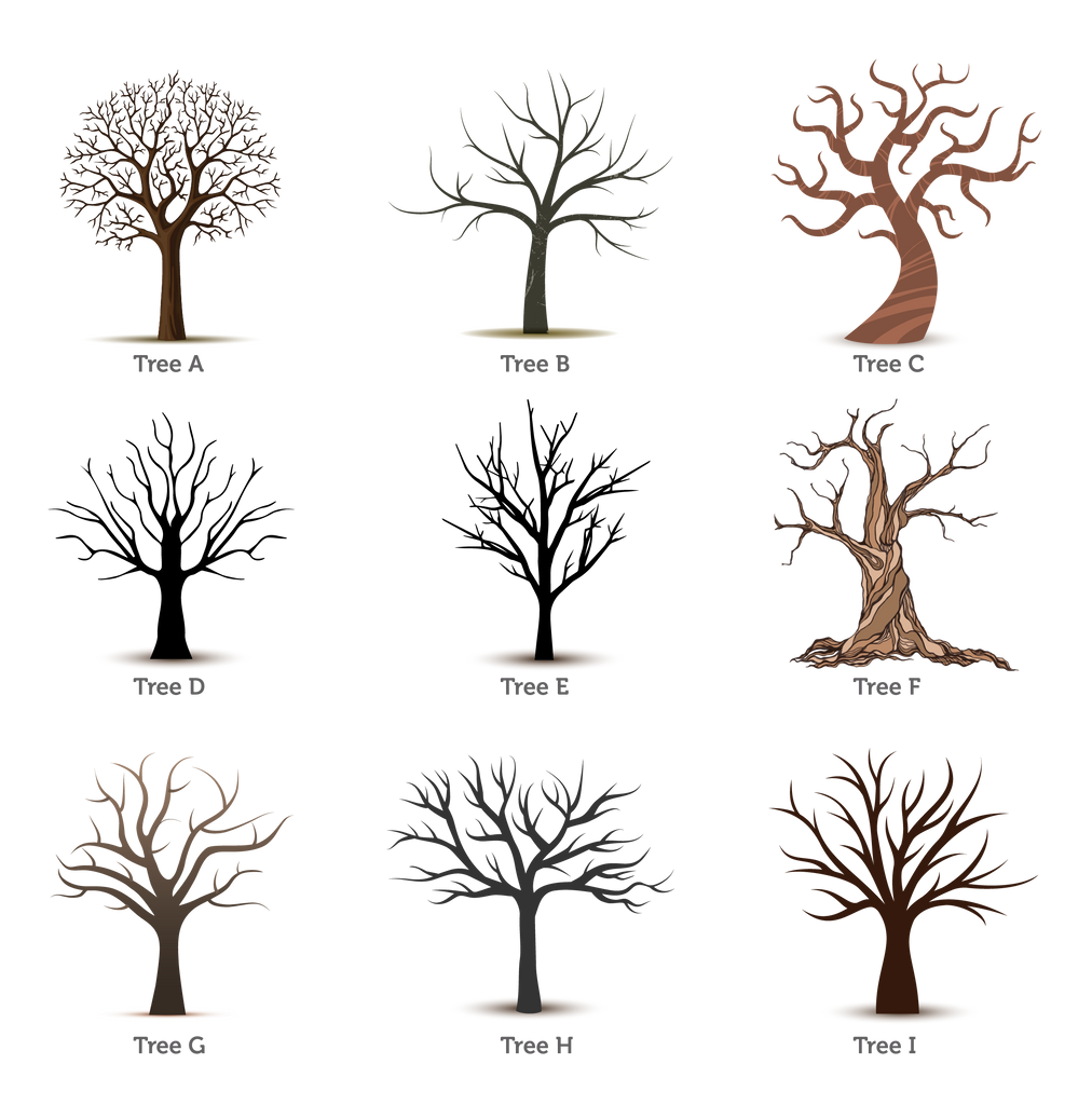 Personalised Wedding Fingerprint Tree – Oregano Designs