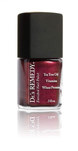 Dr.'s REMEDY Enriched Nail Polish, REVIVE Ruby Red, 0.5 fl. oz.