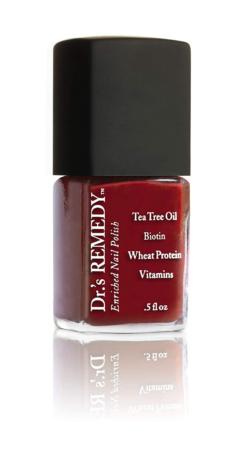 Dr.'s REMEDY Enriched Nail Polish, TRIO Collection, Red/Brick Red, 1 fl. oz.