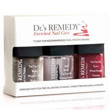Dr.'s REMEDY Enriched Nail Care HEALTHY HOLIDAY TRIO SET, 1.5 Fluid Ounce