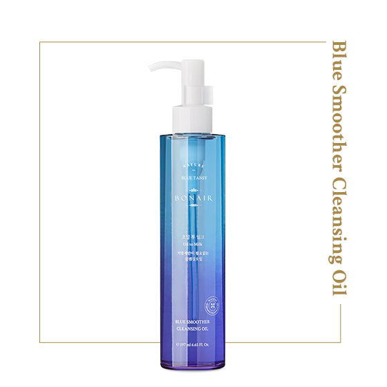 BONAIR Blue Smoother Cleansing Oil - Detergente viso 2 IN 1