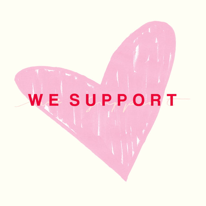 WE SUPPORT