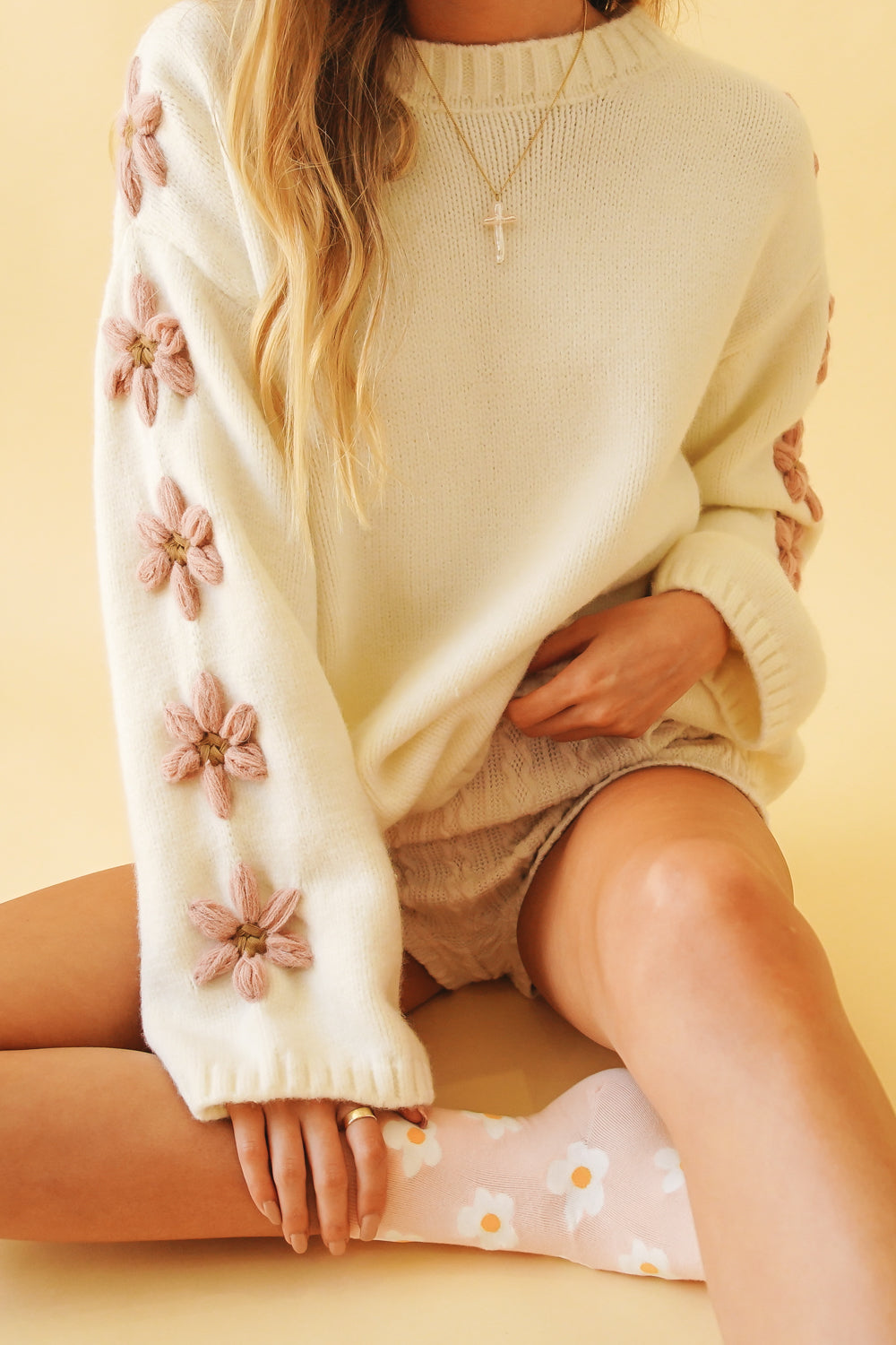 Retro Collection Knit // Cream