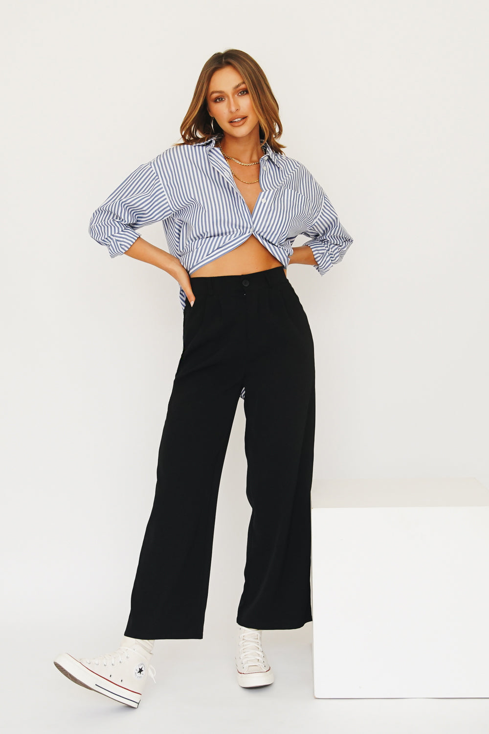 Fashion Icon Pants // Black