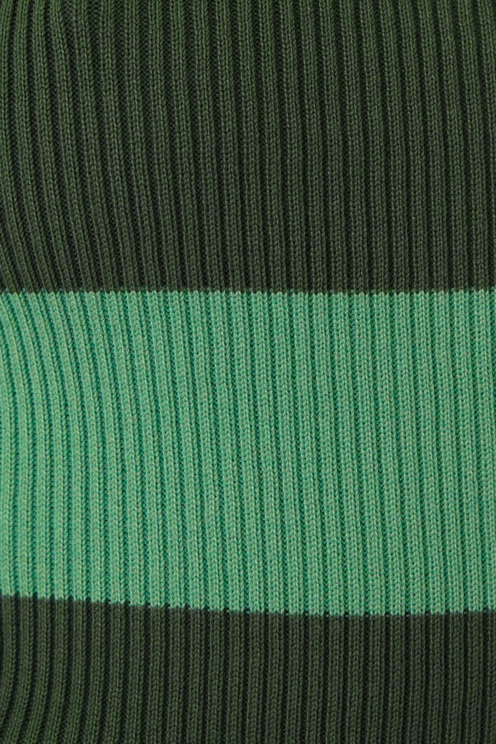 French Inspired Ribbed Knit Top // Green
