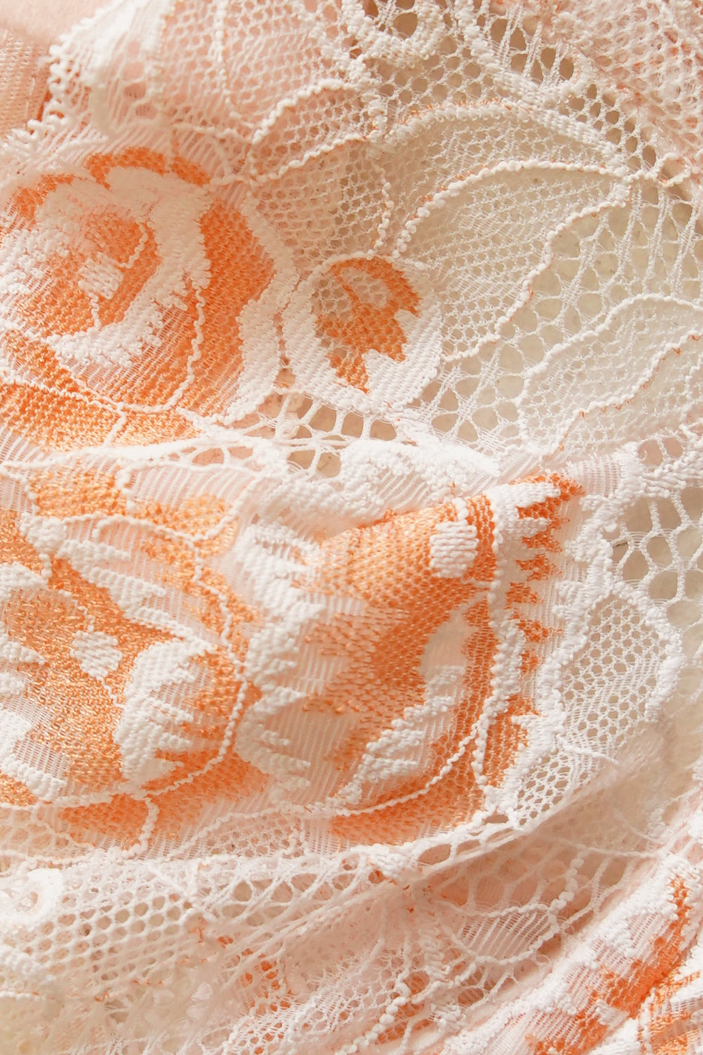 VRG GRL Crave You Lace Bralette // Peach