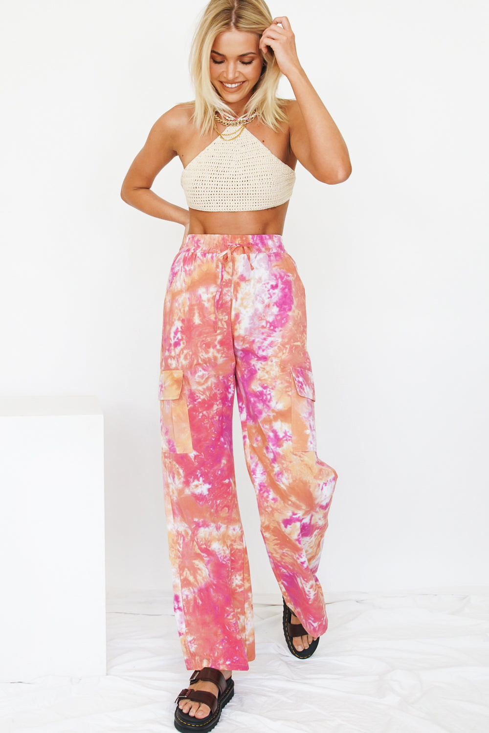VRG GRL You've Got It Pants // Tie Dye
