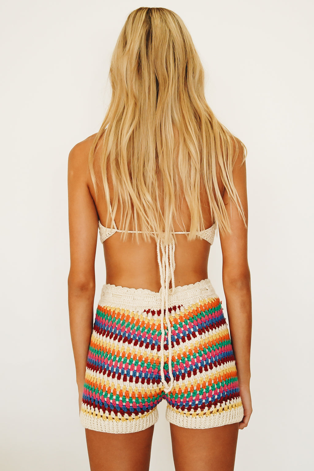 Summer Boys Crochet Shorties // Multi