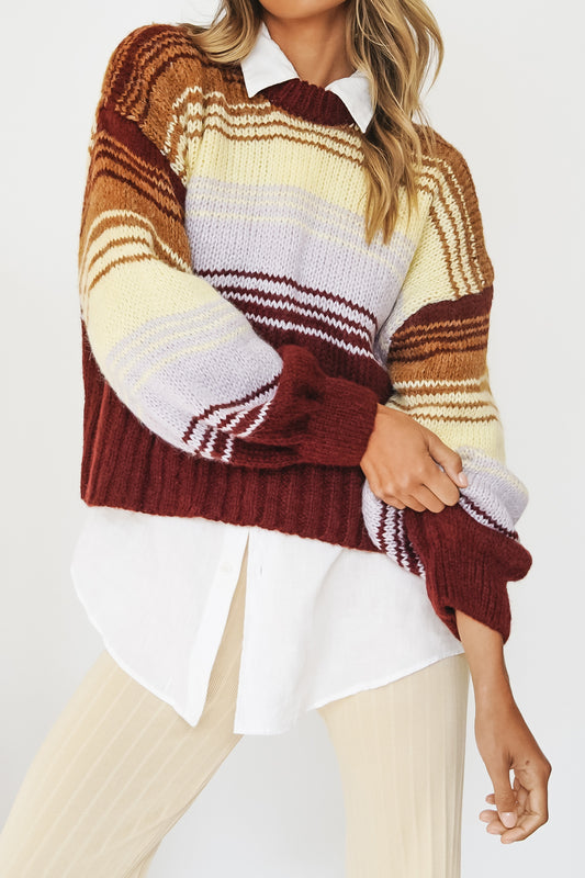 Just Like That Knit // Stripe