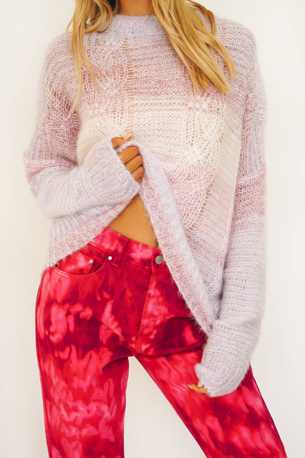 In The Movies Knit // Baby Pink