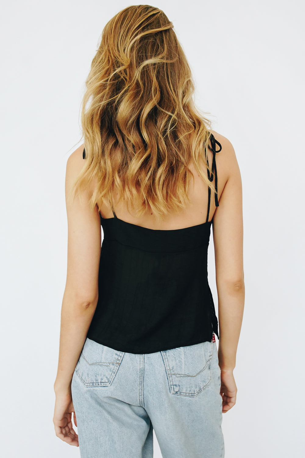Coastal Town Knit Cami // Natural