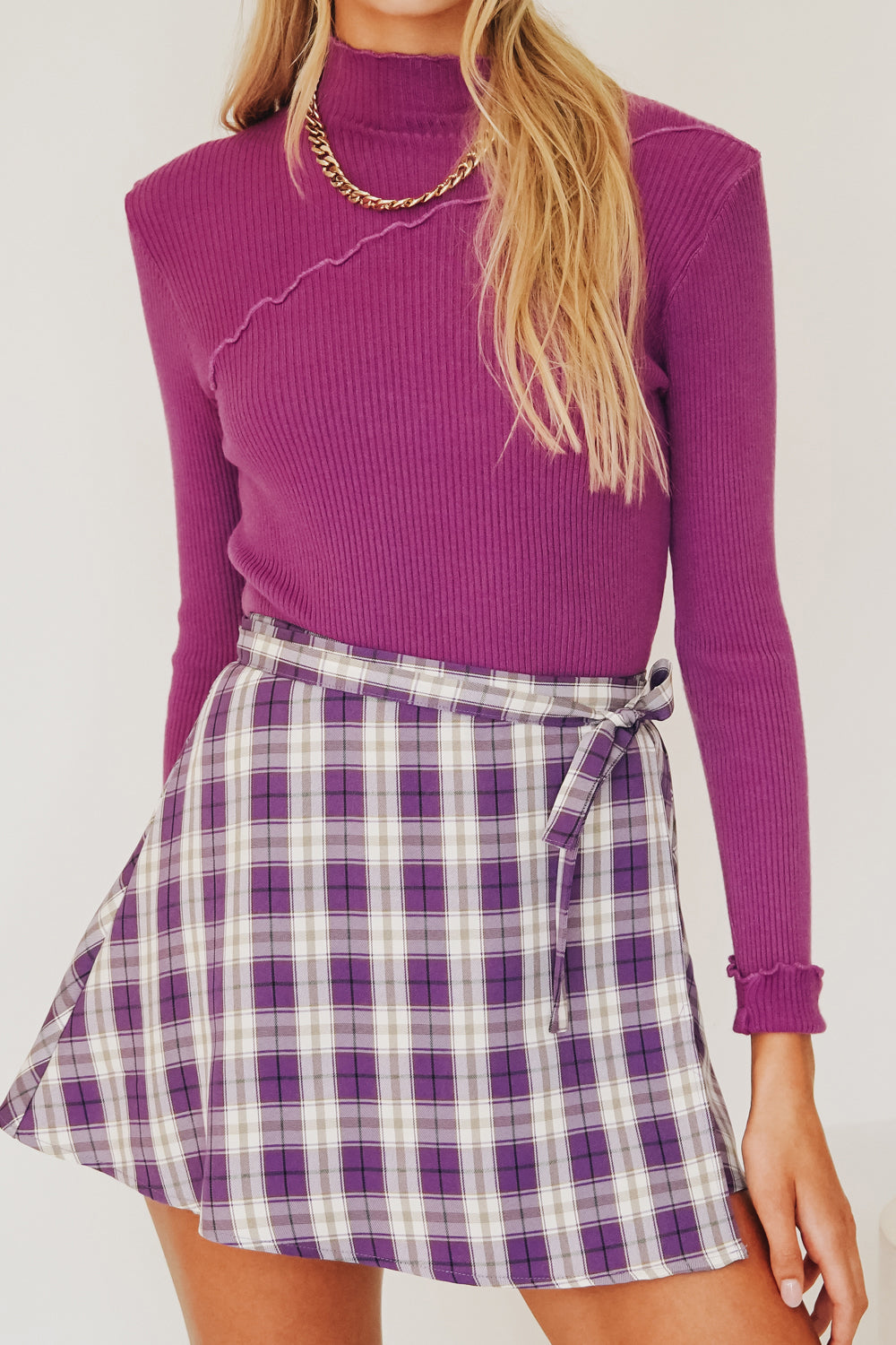 Runway Trends Knit Set // Lilac