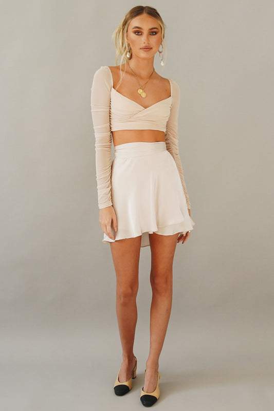 Beverly Hills Mini Skirt // Pink
