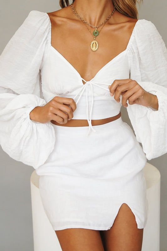 Angel Energy Cami // White