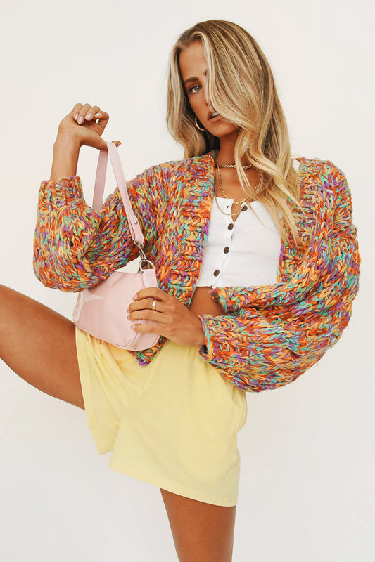 An Obsession Knit Cardigan // Multi