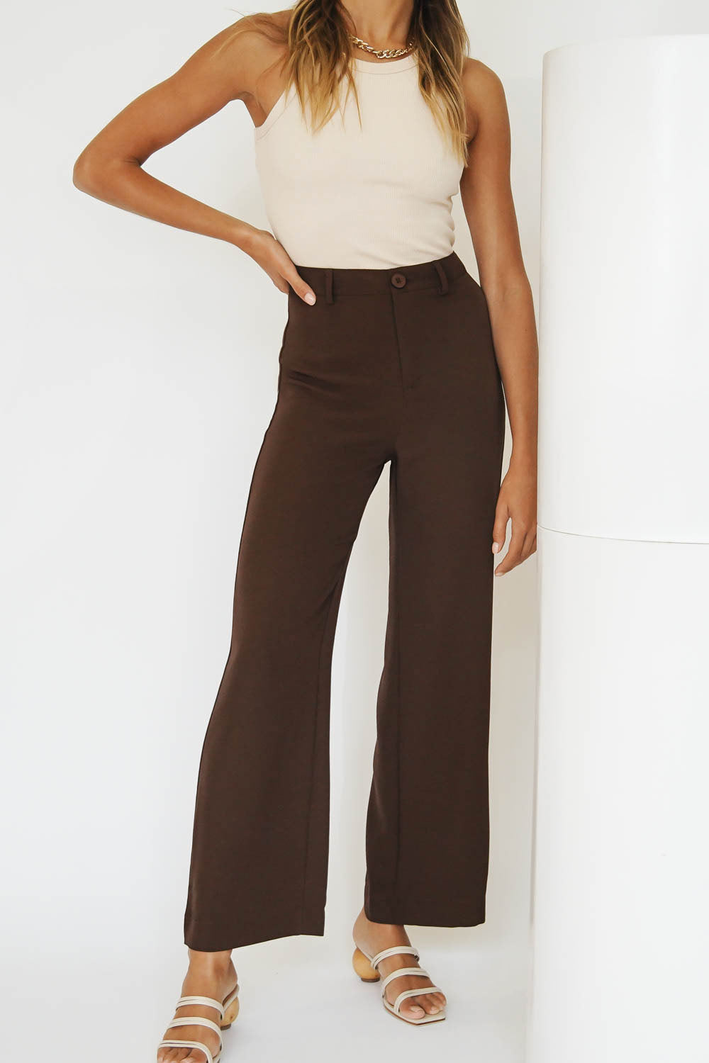 Her Moment Pants // Chocolate