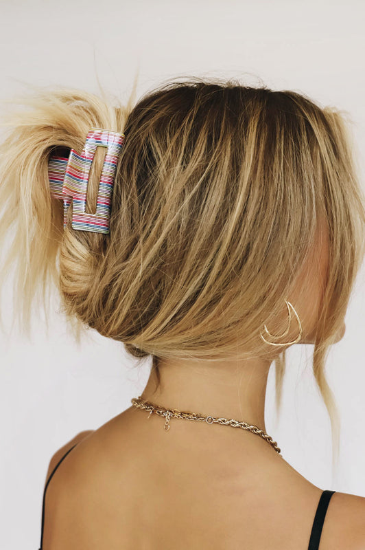 Disco Days Hair Clip // Multi
