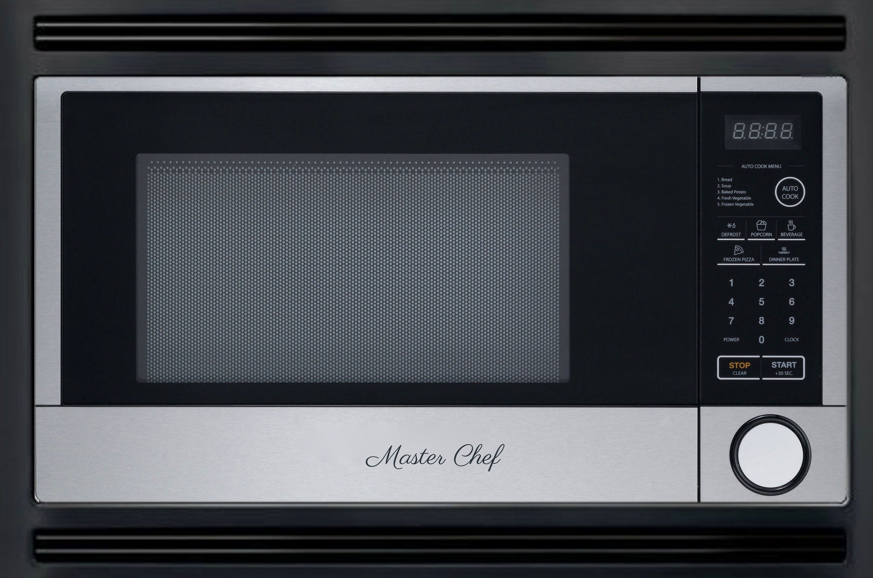 Master Chef 24 Over The Range Microwave Oven Wmetal Cabinet