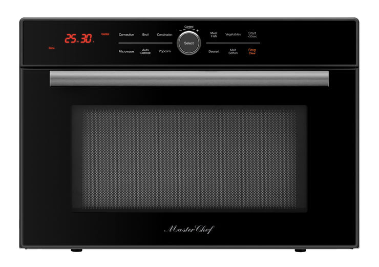 Master Chef, 5 Ovens in 1 Convection Microwave, Countertop, w/ Drop Down Door (MC-500-CTB)