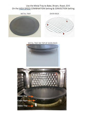 Master Chef-Metal Tray + Grill Rack (for Model MC-300)