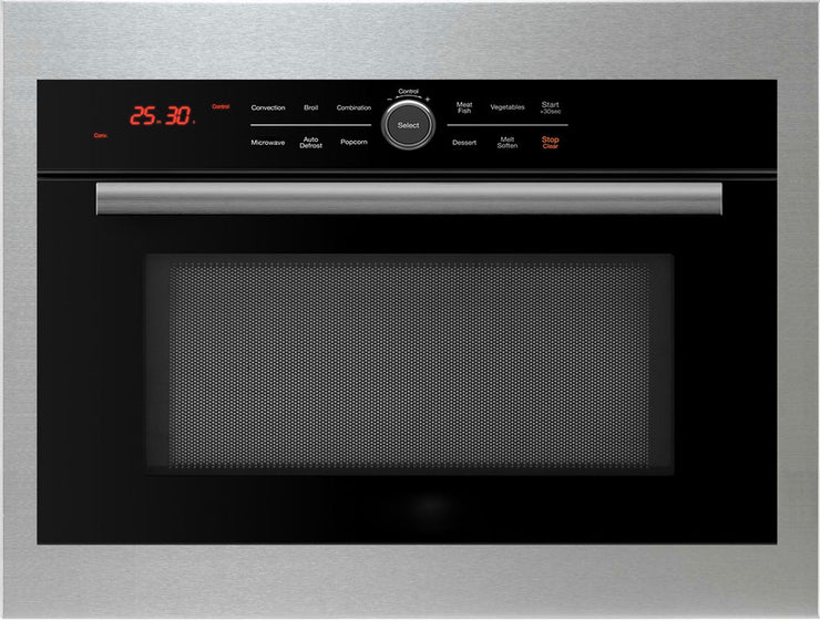 "Master Chef 5 Ovens in 1 Oven, Built In Convection Microwave Oven w/ 24"" Induction cooktop"