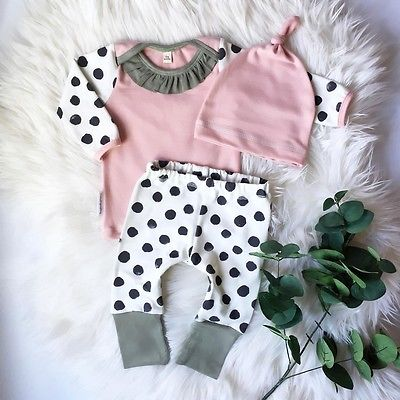 Pink Polka Dot Outfit