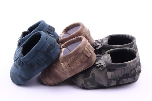 Camo Moccasin Shoes