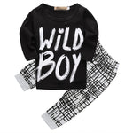 Wild Boy Baby Boys Shirt and Pants Outfit