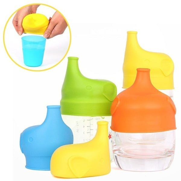 Baby/Kids Sippy Reusable Lids to make Cups Leakproof