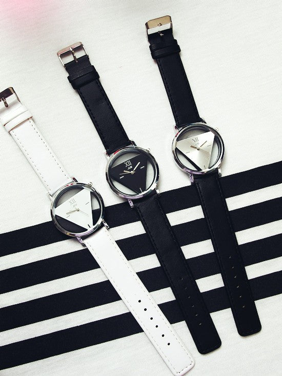 Montre Femme Triangle