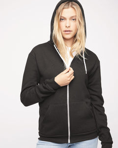 American Apparel - Unisex Flex Fleece Zip Hoodie