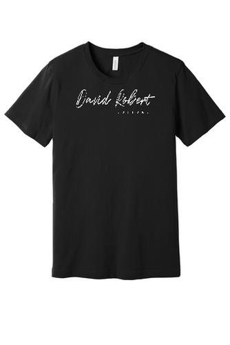 David Robert Customs Black Unisex Tee