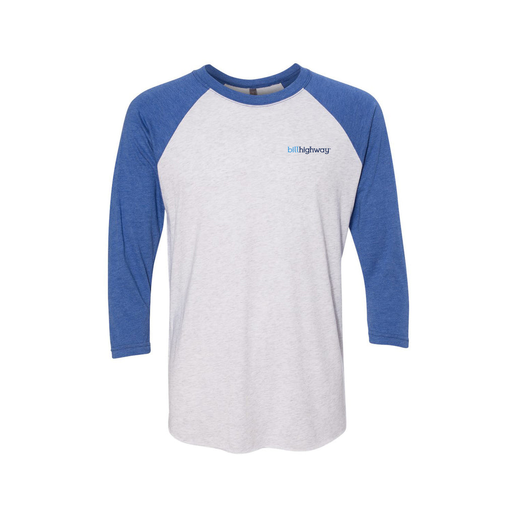 Tri Blend Three Quarter Sleeve Raglan
