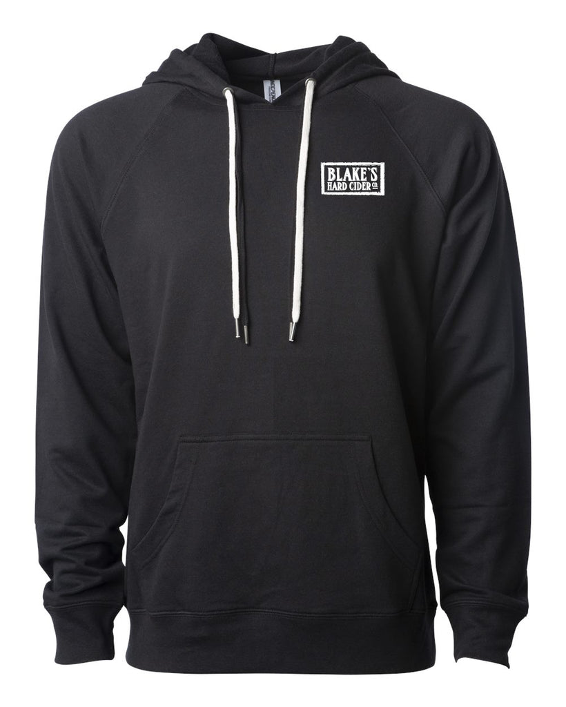 Blake's Hard Cider Unisex Lightweight Loopback Terry Hooded Pullover