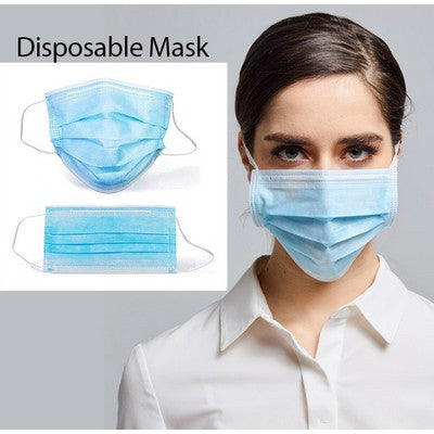 High-Filtration Efficiency Disposable Face Mask (Box of 50)
