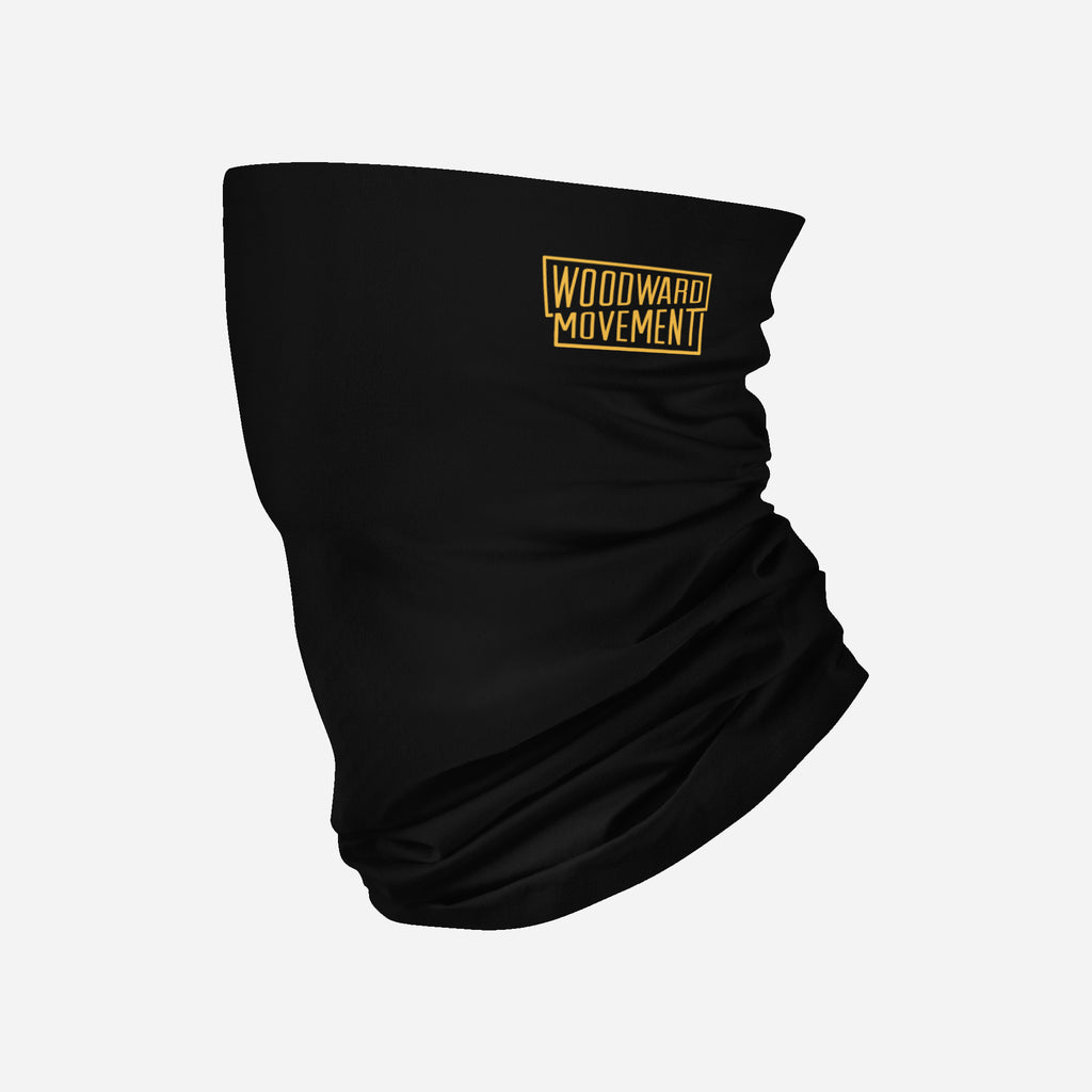One Color Logo on Black Neck Gaiter (MOQ 25)
