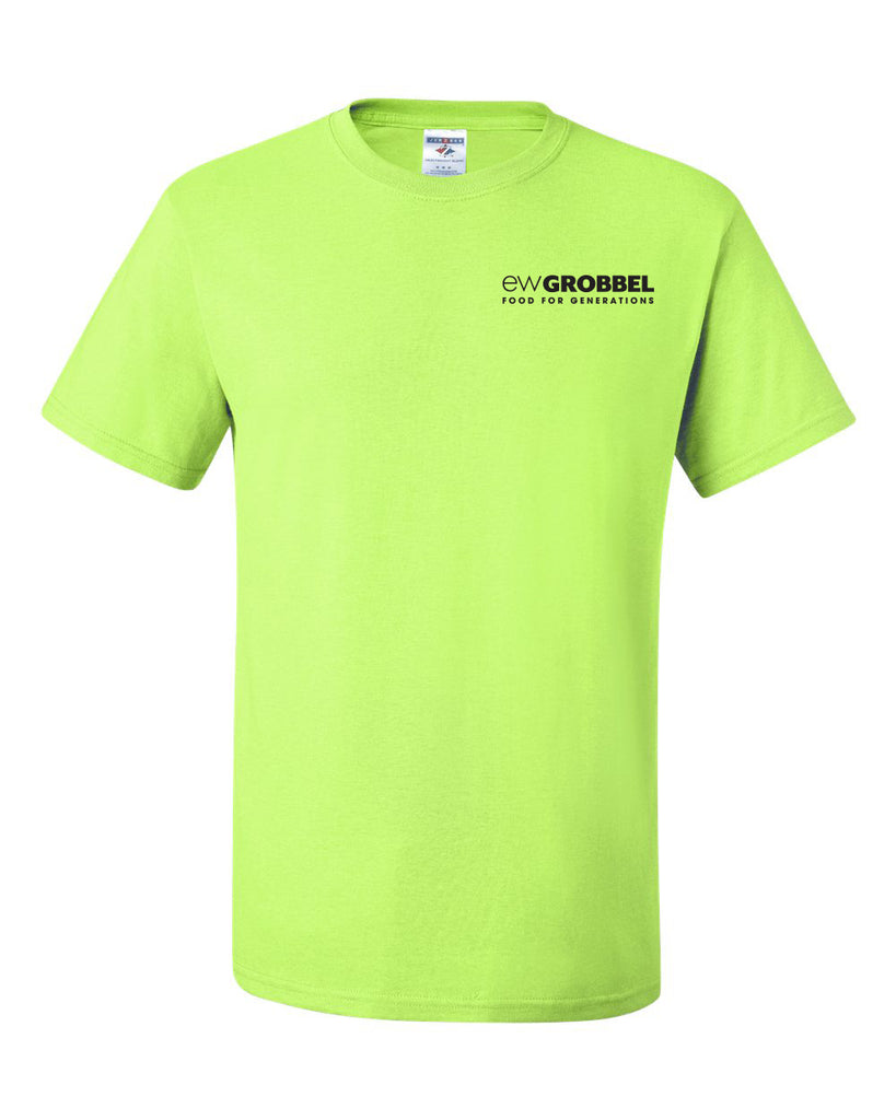 Grobbel Safety Green Tee