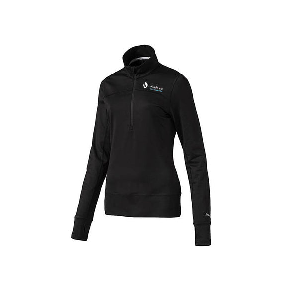 PUMA Women's 1/4 Zip Golf Popover w/ Thumbholes