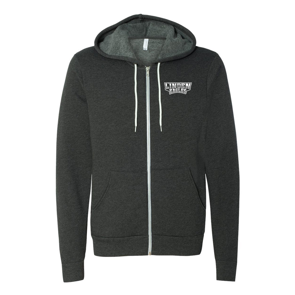 Linden Eagles Zip Hoodie - Unisex/Youth Sizing