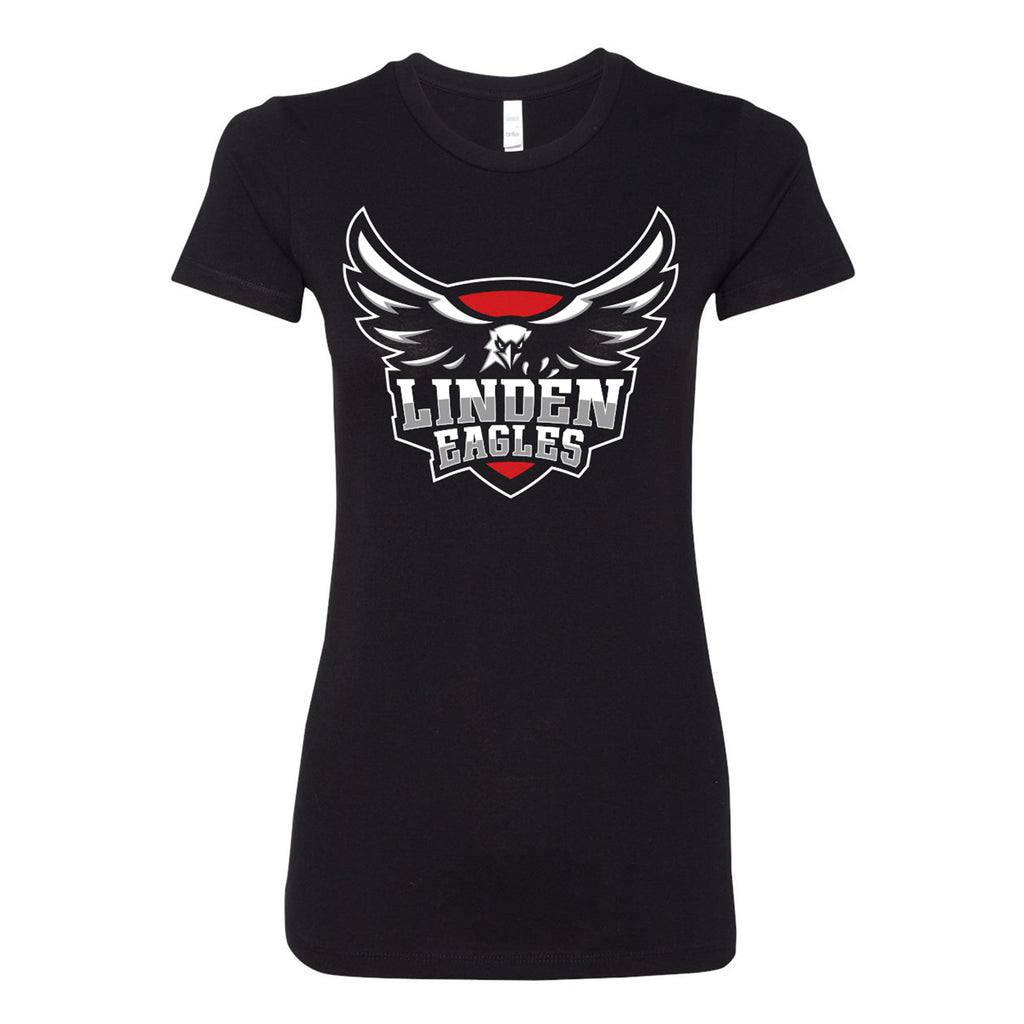 Linden Eagles Badge Tee - Women's