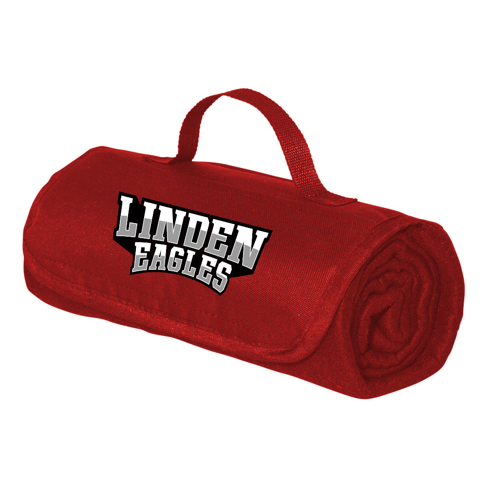 Linden Eagles Alpine Fleece Roll Up Blanket