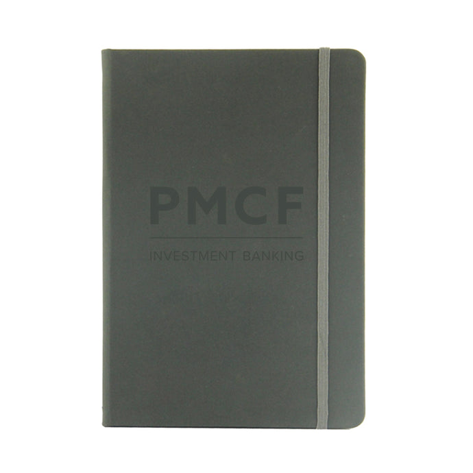 Thermal PU Leather Cover Notebook with Embossed Logo