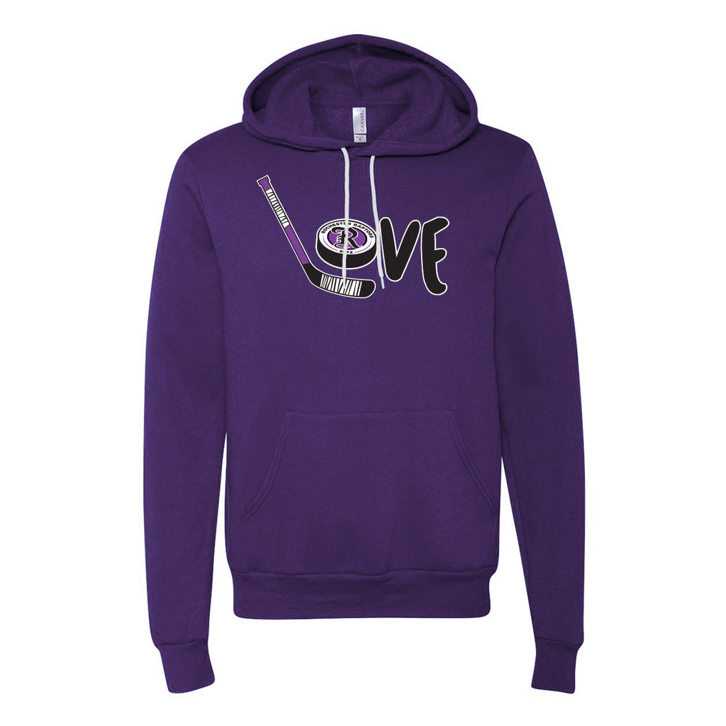 Official I Love Raptors Hoodie (Unisex/Youth)