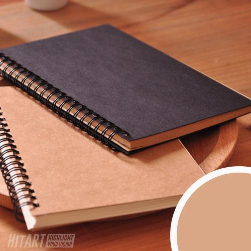 Carnet De Croquis 100 Pages Kraft Couverture Rigide Divers Kraft Papier Kraft