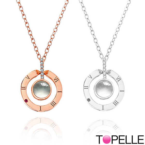 "Collier ""Dites-lui 100 je t'aime !"" - Topelle™"